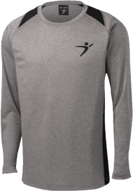 Flight Man Performance Long Sleeve - Gray/Black