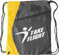 Take Flight Cinch Bag - Yellow