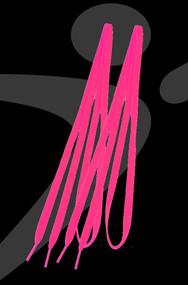 Take Flight 1.0 Custom Shoe Laces - Hot Pink