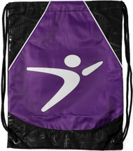 Flight Man Cinch Bag - Purple