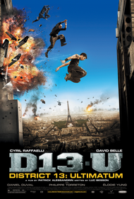 District 13 Ultimatum Movie Poster - 27x40 (SUPER RARE + COLLECTIBLE)