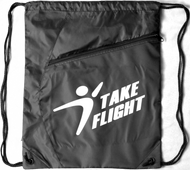 Take Flight Cinch Bag - Black