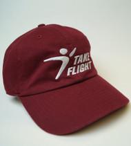 Take Flight Dad Hat - Maroon