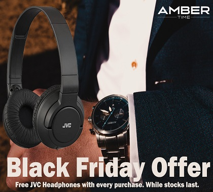 Black Friday Offer On Amber Time Watches
