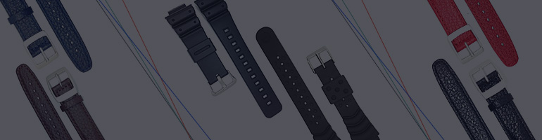 Casio, Seiko, ATLO Watch Straps
