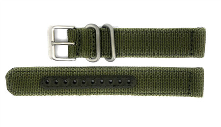 8715a176e9ad6 Seiko 5 SNK805 / SNK805K2 Replacement Green Fabric Watch Strap 4K11JZ - ATL  OUTLET