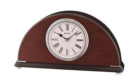 Seiko Wooden Mantel Clock QXE058Z | ATL OUTLET