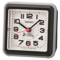 Seiko Bedside Beep Sound Alarm Clock QHE908K - Novak Djokovic Foundation