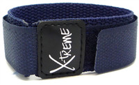 X-Treme 20mm Wrap Around Nylon Watch Band Strap Gents Men's - Dark Blue