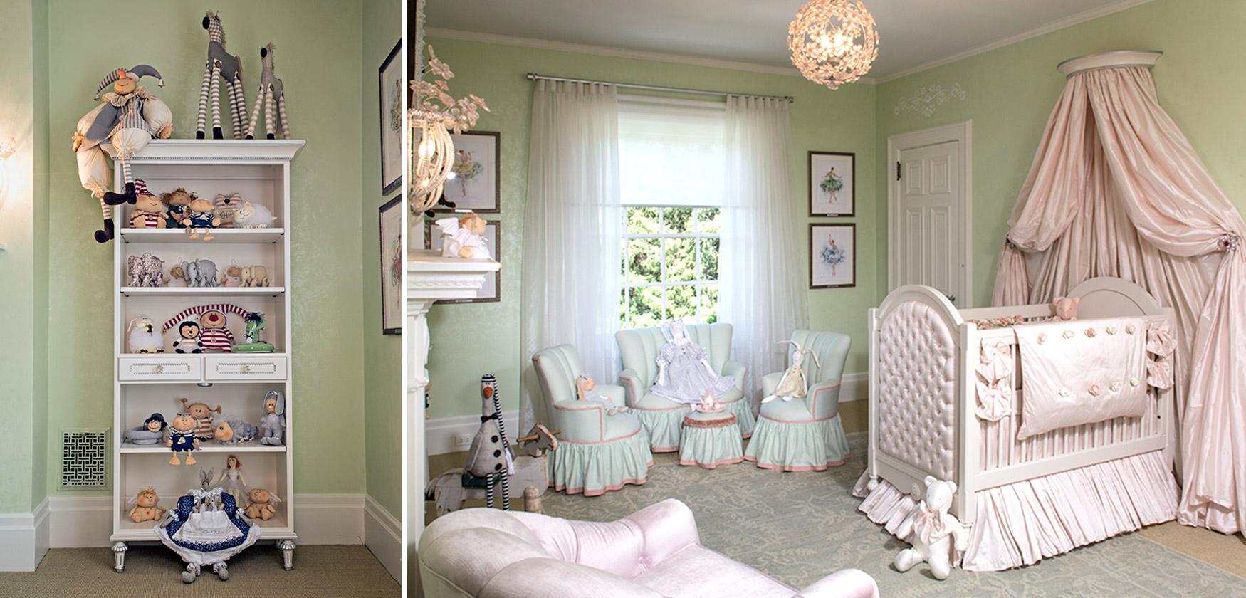 Baby Nursery Interior Design Sleeping Beauty Zoyab Ny