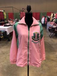 Alpha Kappa Alpha  Pink and Green Sweatsuit