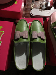 Alpha Kappa Alpha Leather Slide