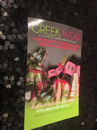 GREEKWEARSTORE.COM WILL SHIP YOU $75.00 OR MORE WORTH OF ITEMS