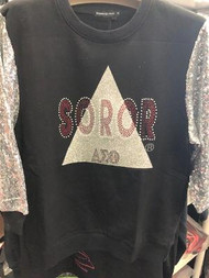 DELTA BLING SWEATSHIRT