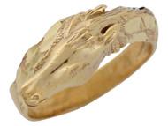 Anillo Elegante Diamantado De Caballo De Carrera En Estilo Bypass En Oro De (OM#10318)