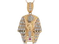 Colgante Con Circonita de Faraón Egipcio Rey Tut En de (OM#11054)