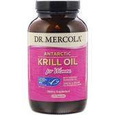 Buy Antarctic Krill Oil for Women 270 Caps Dr. Mercola Online, UK Delivery, EFA Omega EPA DHA
