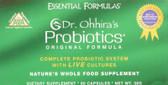 Essential Formulas Probiotics Original 60 Caps Dr. Ohhira's