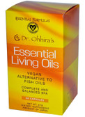 Buy Essential Formulas Essential Living Oils 60 Caps Dr. Ohhira's Essential Formulas Online, UK Delivery, EFA Omega EPA DHA Vegetarian EFA