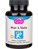Buy Hair & Nails 500 mg 100Veggie Caps Dragon Herbs Online, UK Delivery, Brittle Nail Health Repair Supplements
