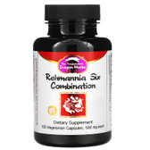 Buy Rehmannia Six Combination 500 mg 100 Veggie Caps Dragon Herbs Online, UK Delivery, Kidney