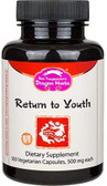 Buy Return to Youth 500 mg 100 Veggie Caps Dragon Herbs Online, UK Delivery,