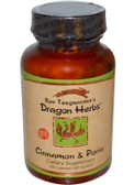 Buy Cinnamon & Poria 500 mg 100 Caps Dragon Herbs Online, UK Delivery, Condition Specific Formulas