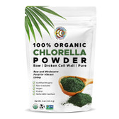 Buy Chlorella Powder Raw Organic 4 oz (113 g) Earth Circle Organics Online, UK Delivery, Green Foods Superfoods