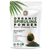 UK Spirulina Raw Organic 4 oz, EarthCircle