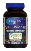 Buy Spirulina Gold Plus 500 mg 180 Tabs Earthrise Online, UK Delivery, Spirulina Green Food Superfoods