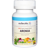 Buy Aronia 450 mg 90 Veggie Caps Eclectic Institute Online, UK Delivery, Antioxidant Aronia Berry Chokeberry