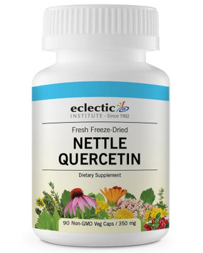 Buy Stinging Nettle Quercetin 350 mg 90 Veggie Caps Eclectic Institute Online, UK Delivery, Herbal Remedy Natural Treatment