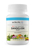 Buy Dandelion Root Raw 400 mg 90 Non-GMO Veggie Caps Eclectic Institute Online, UK Delivery, Herbal Remedy Natural Treatment