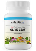 Buy Olive Leaf 400 mg 90 Non-GMO Veggie Caps Eclectic Institute Online, UK Delivery, Cold Flu Remedy Relief Viral Treatment Olive Leaf Immune Support