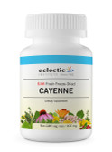 Buy Cayenne 400 mg 90Non-GMO Veggie Caps Eclectic Institute Online, UK Delivery, Herbal Remedy Natural Treatment