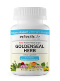 Buy Goldenseal Herb Raw 300 mg 100 Non-GMO Veggie Caps Eclectic Institute Online, UK Delivery, Herbal Remedy Natural Treatment