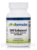 DIM Enhanced w/ Curcumin, Green Tea & Wasabia 60 vCaps