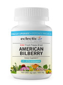 Buy American Bilberry 400 mg 120 Veggie Caps Eclectic Institute Online, UK Delivery, Eye Support Supplements Vision Care Bilberry