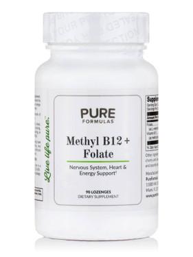 UK Buy Methyl B12 Plus, 90 Tabs, PureFormulas