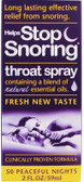 Buy Helps Stop Snoring Throat Spray 2 oz (59 ml) Essential Health Products Online, UK Delivery, Sleep Support Snoring Aids
