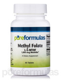 Methyl Folate L-5-MTHF (1000 mcg of Metafolin) 60 Tabs