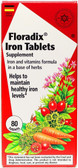 Buy Floradix Iron Tabs Supplement 80 Tabs Flora Online, UK Delivery, Mineral Supplements