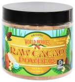 Buy Organic Raw Cacao Powder 5 oz (140 g) Fun Fresh Foods Online, UK Delivery, Raw Foods
