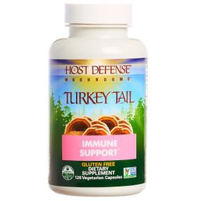 Buy  UK Turkey Tail 120 Veggie Caps Fungi Perfecti Online, UK Delivery, Immune Support Mushrooms