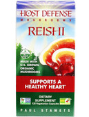 Host Defense Reishi Mushrooms 120 Veggie Caps Fungi Perfecti