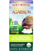 Host Defense Agarikon 60 Caps Fungi Perfecti, Immune Support, UK Supplements