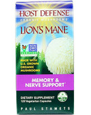 Buy Host Defense Lion's Mane 120 Veggie Caps Fungi Perfecti Online, UK Delivery