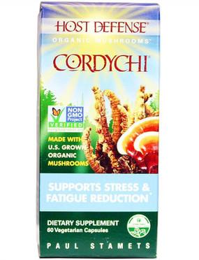 Buy Host Defense Cordychi 60 Veggie Caps Fungi Perfecti Online, UK Delivery, Mixed Mushroom Combinations