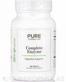 Ultrazyme 180 Tabs Pure Formulas, Digestion, UK Store