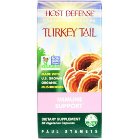 Buy Host Defense Turkey Tail 60 Veggie Caps Fungi Perfecti Online, UK Delivery, Immune Support Mushrooms